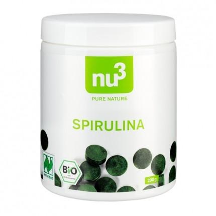 2 x GSE, Spiruline bio, comprimés + nu3 Spiriuline bio