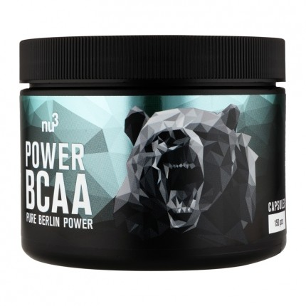 5 x nu3 Sports Power BCAA, Capsules
