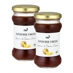 nu3 Superfood Finesse organic yacón & camu camu, fruit spread