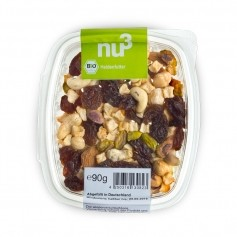 nu3 Heldenfutter  Nuss-Frucht-Mischung Bio