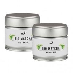 2 x nu3 Bio Matcha Tee, Pulver