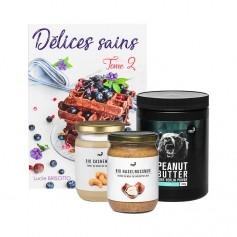 nu3 Trio de purés d'oléagineux & Livre de recettes d'Healthy Food Creation
