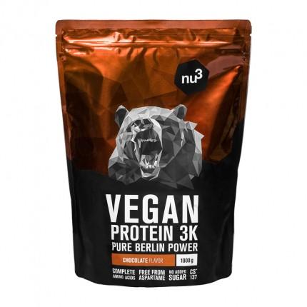 nu3 Vegan Protein 3K, Schokolade, Pulver (1000 g)