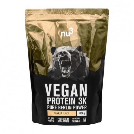 nu3 Vegan Protein 3K, Vanille, Pulver (1000 g)