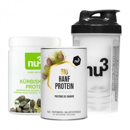 nu3 Vegane Proteine Produkt-Set