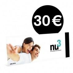 nu3-Wertgutschein 30€