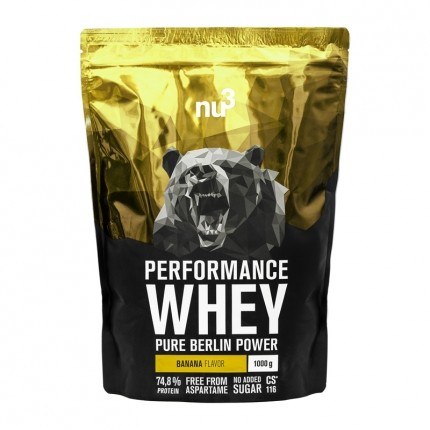 nu3, Whey Performance Banane, poudre