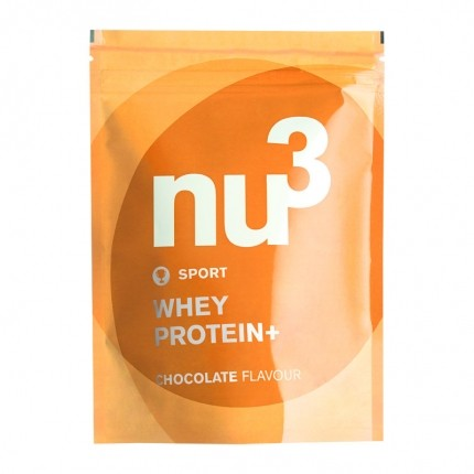 nu3 whey protein+ chocolate powder
