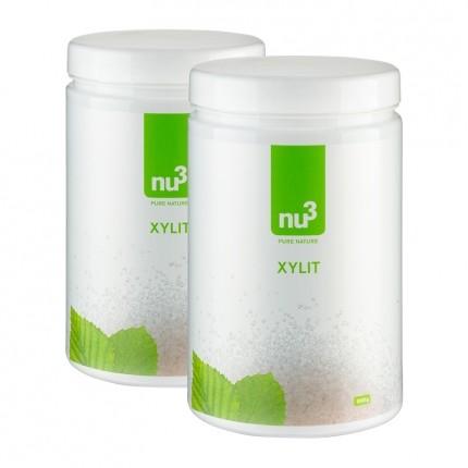 nu3, Xylitol, poudre, lot de 2