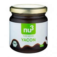nu3, Yacon bio, sirop