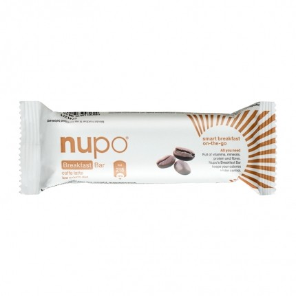 12 x Nupo Breakfast Bar Caffe Latte