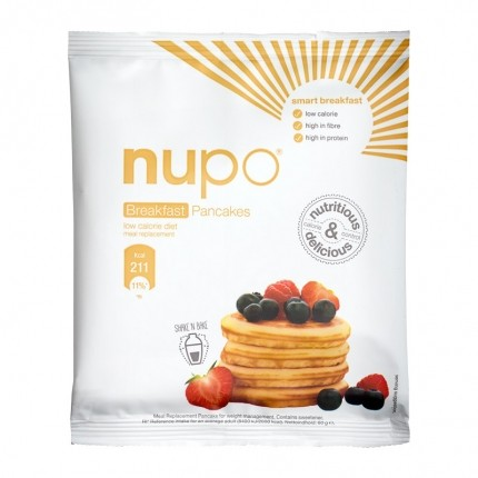12 x Nupo Breakfast Bar Pancake