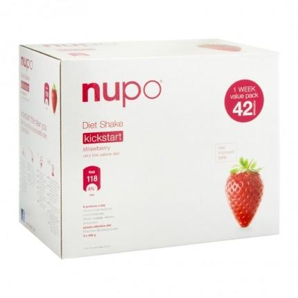 Nupo Diät-Shake Erdbeere, Pulver