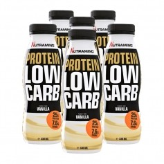 6 x Nutramino Protein Low Carb Shake Vanilla