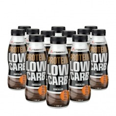 12 x Nutramino Protein LEAN Shake Chocolate
