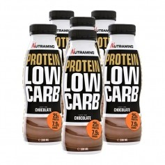 6 x Nutramino Protein Low Carb Shake Chocolate