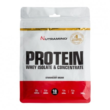 Nutramino Whey Protein Strawberry