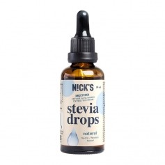 Natural Stevia Drops (naturell)