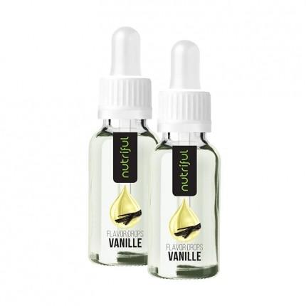 Nutriful Flavor Drops, Vanille, Aromatropfen