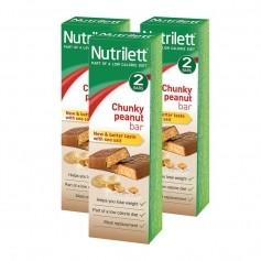 3 x Nutrilett Chunky Peanut Bar 2-p