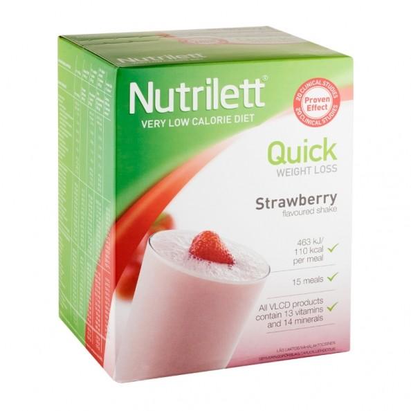 nutrilett perte de poids rapide boisson fraise nu3. Black Bedroom Furniture Sets. Home Design Ideas
