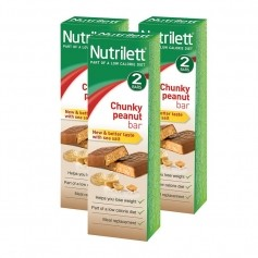 3 x Nutrilett Chunky Peanut Bar 2-pack