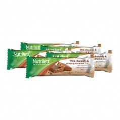 5 x Nutrilett Milk Chocolate & Creamy Caramel Bar