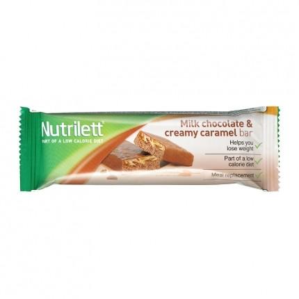 5 x Nutrilett Milk Chocolate Creamy Caramel -patukka
