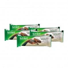 5 x Nutrilett Premium -patukka, tumma suklaa