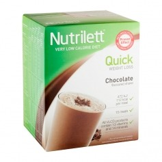 Nutrilett Quick Weight Loss Chocolate Shake, pulver