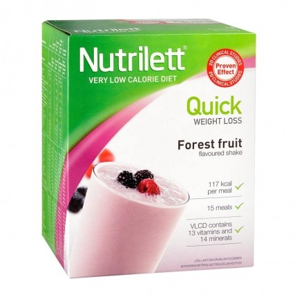 Nutrilett Quick Weight Loss Forest Fruit Shake Powder