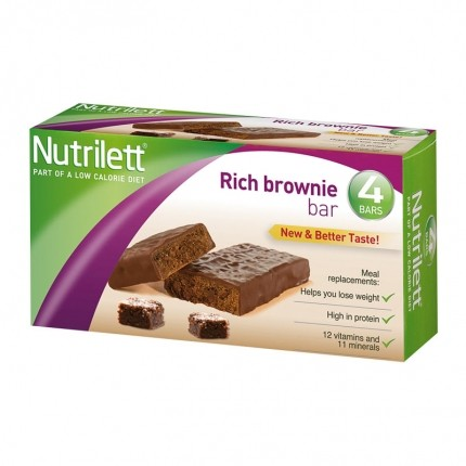 Nutrilett Rich Brownie Bar 4-p