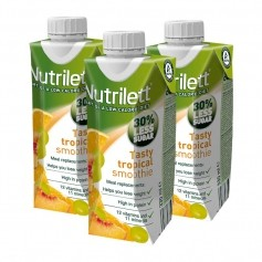 3 x Nutrilett Tasty Tropical RTD