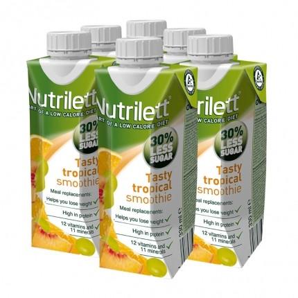 6 x Nutrilett Tasty Tropical RTD