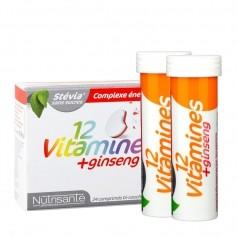 13 vitamines + ginseng - 24 comprimés