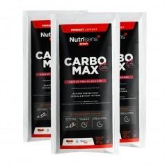 Nutrisens Sport, Carbo Max, fruits rouges, poudre, lot de 3