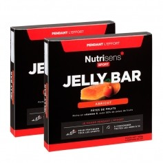 Nutrisens Sport, Jelly Bar, abricot, barres, lot de 2