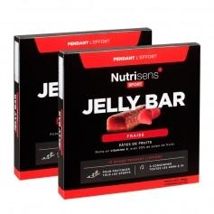 Nutrisens Sport, Jelly Bar, fraise, barres, lot de 2