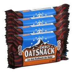 Oatsnack, Barres de céréales énergétiques choco