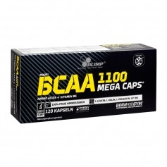 Olimp BCAA Mega Caps, kapslar