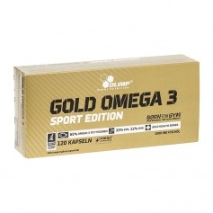 Olimp Gold Omega 3 Sport Edition, kapslar