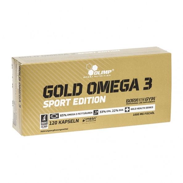 olimp gold omega 3 sport edition kapseln 120 stueck 35441 8877 14453 1. Black Bedroom Furniture Sets. Home Design Ideas