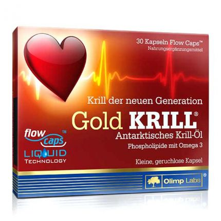 Olimp Labs Gold Krill Capsules