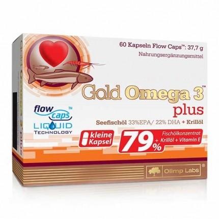 Olimp Labs Gold Omega 3 plus, Kapseln