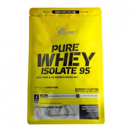 Olimp Pure Whey Isolate 95 Strawberry Powder