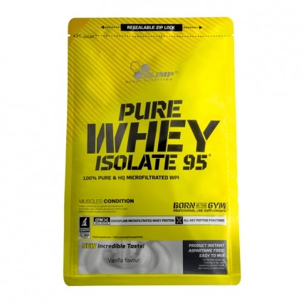 Olimp Pure Whey Isolate 95 Vanille, Pulver