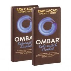 2 x Ombar Bio Coconut 60 % Rohe Schokolade