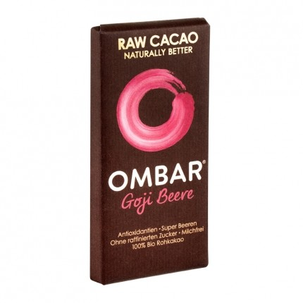Ombar Goji Berry Raw Chocolate With Goji Berries