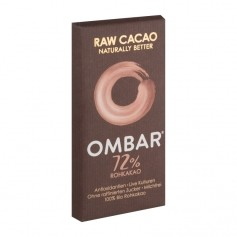 Ombar Probiotic Dark Raw Probiotic Chocolate