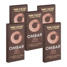 Ombar Probiotic Raw Dark Chocolate